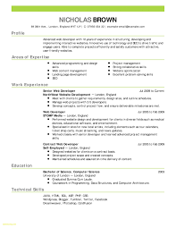Good Resume Layout Fresh Resume Downloadable Template