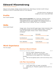 how to type up a resume for a job to put on our resume resume form and formats