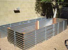 Corrugated Metal Raised Garden Beds Diy Home Design Ideas Home 25