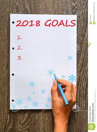 Professional Goals List Personal And Professional Goals List For The New Year 2018