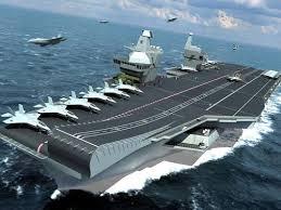 carrier ramp. artist\u0027s concept of the new queen elizabeth class carrier. credit: rn carrier ramp u
