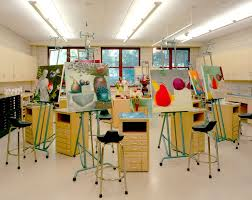 art studio lighting. Bright Artist Studio Space Lighting Colorful Fun Ideas Redesign Art