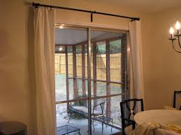 perfect curtains for sliding glass door ideas sliding door curtains decorating ideas images window