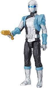 "Hasbro Power Rangers: Beast Morphers Silver Ranger 12"" Action Figure:  Amazon.de: Spielzeug"