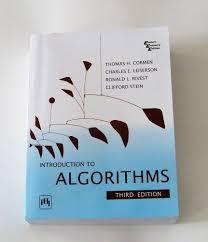 Algorithm Design Manual Vs Clrs Introduction To Algorithms Third Edition Thomas H Cormen