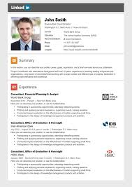 Linkedin Resume Beauteous LINKEDIN Resume Template Trendy Resumes