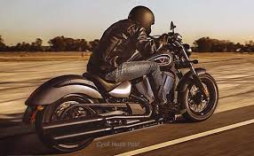 the victory gunner big muscle in a throwback bobber style