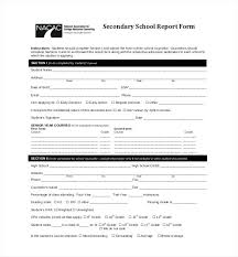 Student Incident Report Template Free Templates Grnwav Co