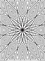 Images Of Printable Hard Geometric Coloring Pages Within Geometry