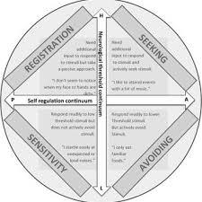 Sensory Processing Chart Quadrants Of The Sensory Profile Download Scientific Diagram