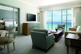 Ocean Living Room Club Ocean View Suite In Mexico The Ritz Carlton Cancun