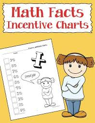 Multiplication Incentive Chart Math Facts Incentive Charts Warm Hearts Publishing