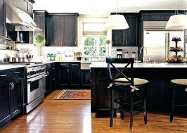 dark wood modern kitchen cabinets. Dark Kitchen Cabinets With Wood Floors Luxury Black . Modern