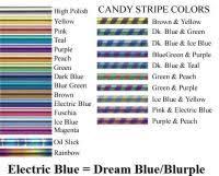 Titan Superflex Color Chart Titanium Anodize Color