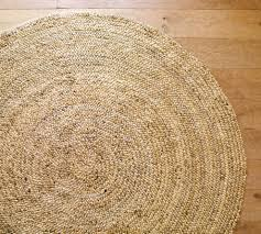 round jute rugs for unique floor decoration ideas