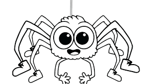 Halloween Spider Coloring Pages Tlalokesorg