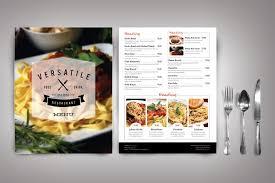 Food Menu Design 50 Restaurant Menu Designs That Look Better Than Food Creative