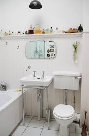 Bathroom Ideas: Floating Bathroom Wall Shelves Above Undermount ...