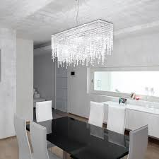 Lighting In Interior Design Best Contemporary Ceiling Light Rectangular Crystal LED CRYSTAL