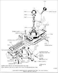 Gear shift 4 speed helical gear warner t98a t18 t19 typical 1964 1972 b500 700 f100 700