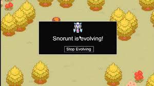 Ptd 2 How To Evolve Snorunt Into Froslass