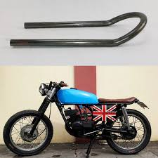 motorcycle bike 9 cafe racer tracker end brat style seat frame