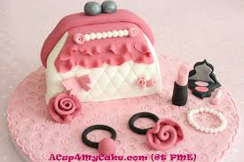 this is a cosmetic bag novelty cake