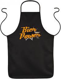 Lustige Schürze Bier Power Kittel Schurz Humorvoll Männer Bier