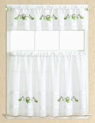 Kitchen Tier Curtains Sets Spring Grape Kitchen Curtain Set Valance 60 X 14 Two Tiers 30 X 36