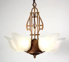 chandelier art nouveau fabulous antique five light art slip shade chandelier cast iron art deco chandelier chandelier art nouveau antique
