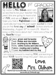 005 Teacher Welcome Letter Template Ideas Slide1 Unusual To