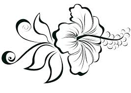 Large Print Flower Coloring Pages Flowers Printable For Big