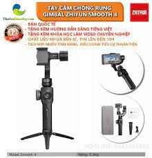 Voucher 50k] Tay cầm chống rung gimbal Zhiyun smooth 4 chống rung cho điện  thoại, camera