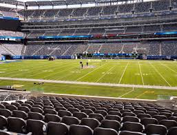 Metlife Stadium Football Seating Chart Metlife Stadium Section 137 Seat Views Seatgeek