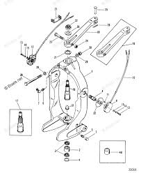 Mercury sterndrive by year mercruiser oem parts diagram for gimbal