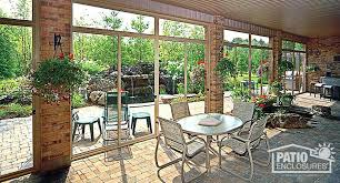 how much does it cost to enclose a patio enclosed patio cost enclosures s popular intended