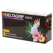 Deltagrip <b>Vinyl</b> Black