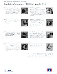 Link Seal Pipe Chart Link Seal Hole Sizing Chart Best Picture Of Chart Anyimage Org