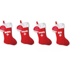 christmas stocking set. Wonderful Christmas Personalised Family Christmas Xmas Stocking Set Your Names Mummy Daddy Kids  Pet With Stocking Set I