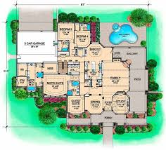 Marvelous I Like The Main Floor Of This Plan, Which Is 4300 Sq Feet European Style House  Plans   7365 Square Foot Home, 1 Story, 5 Bedroom And 5 3 Bath, 3 Garage ...