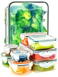 snap food storage containers with lids airtight leak proof easy lock and lid