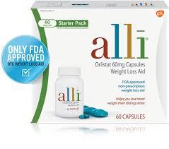 Alli Diet Weight Loss Pills Orlistat 60mg Starter Pack 60