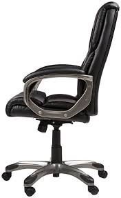 Amazon.com: AmazonBasics High-Back Executive Chair - Black ...