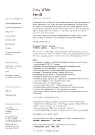 Best Payroll Specialist Resume Example Livecareer Examples For