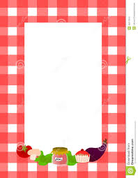 Recipe Page Layout Blank Recipe Page Layout Stock Illustration Illustration Of Checked