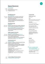 Good Resume Designs 190 Best Resume Design Layouts Images Resume Design Resume