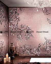 jy m s04 handmade flower glass mosaic wall mural decorative backsplash tile