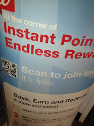 as soon as i walked into walgreens i saw a large banner with all the info about the loyalty program balance rewards everything was explained and i was