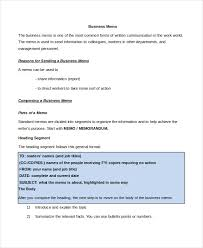 Memo Format 15 Free Word Pdf Documents Download Free Premium