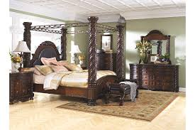 North Shore King Canopy Bed